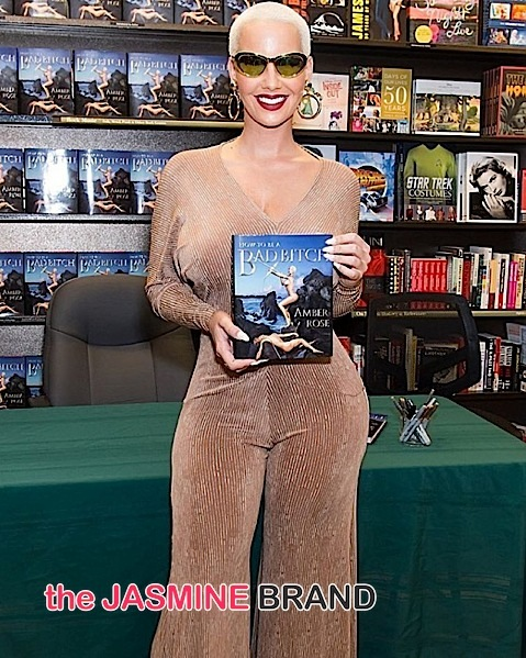 Amber Rose Ambushed By PETA During Book Signing [VIDEO]