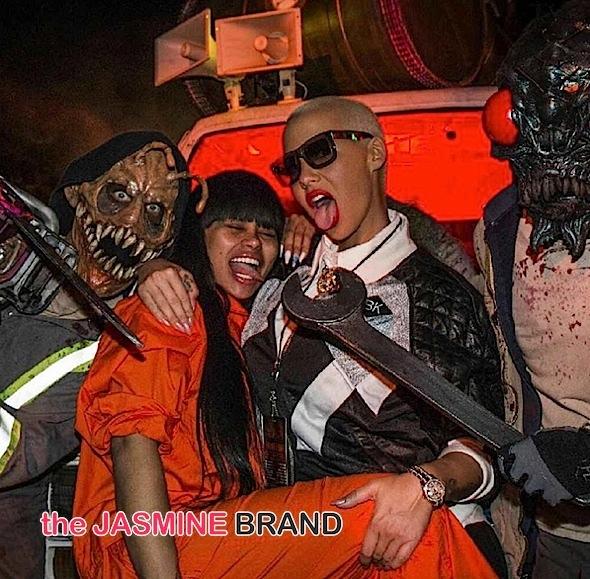 Blacc Chyna & Amber Rose