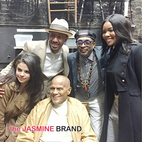 Selena Gomez-Nick Cannon-Spike Lee-Harry Belafonte-Gabrielle Union-the jasmine brand
