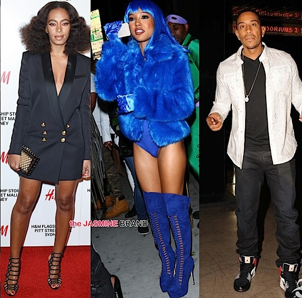 Solange Knowles, Karrueche Tran, Ludacris