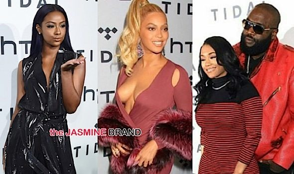 Beyonce, French Montana, Rick Ross, Justine Skye & More Hit Tidal's Red Carpet [Photos]