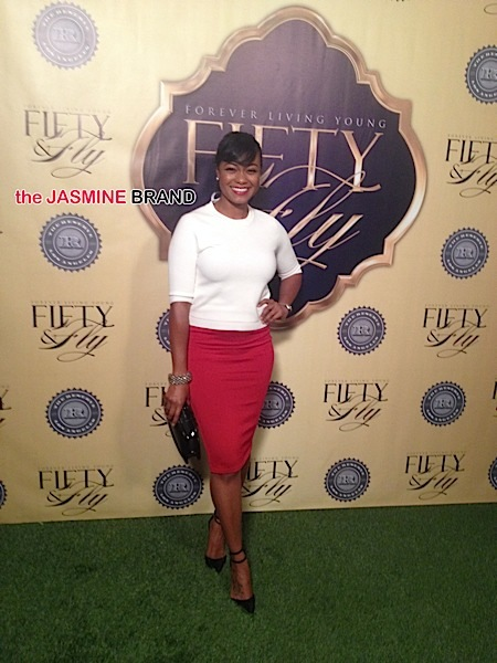 Tatiyana Ali-leah daniels party-the jasmine brand