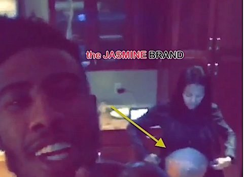 Iman Shumpert Serenades Teyana Taylor's Bump With Gnarls Barkley [VIDEO]