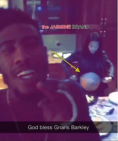 Iman Shumpert Serenades Teyana Taylor's Bump With Gnarls Barkley [VIDEO]