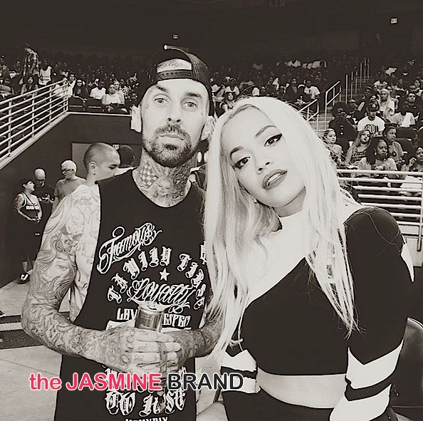 Rita Ora Allegedly Dating Travis Barker [New Couple Alert]
