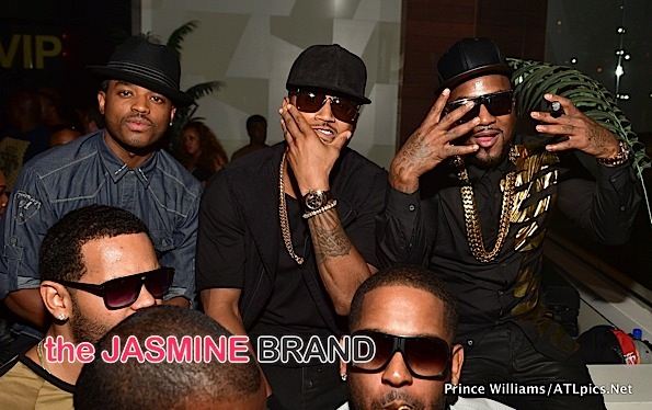 Trey Songz-Larenz Tate-Jeezy Goldroom-the jasmine brand