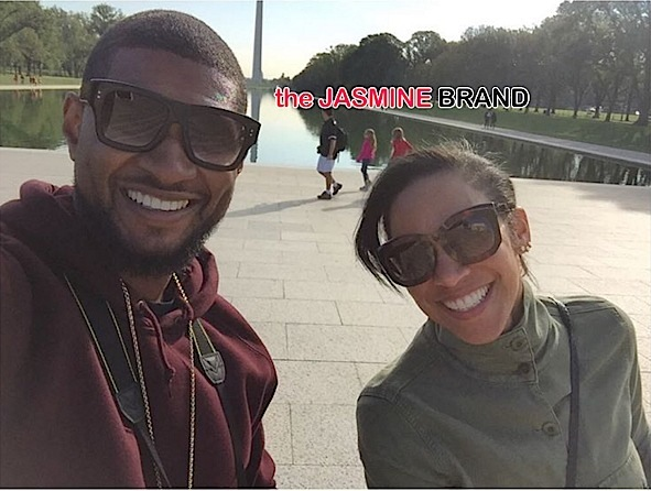 Usher (Sorta) Opens Up About Secret Wedding to Grace Miguel [VIDEO]