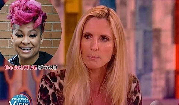 "Ann Coulter Throws ""Watermelondrea"" In Raven Symone's Face On 'The View' [VIDEO]"