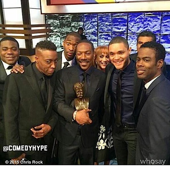 Tracy Morgan, Arsenio Hall, Eddie Murphy, Trevor Noah, Chris Rock