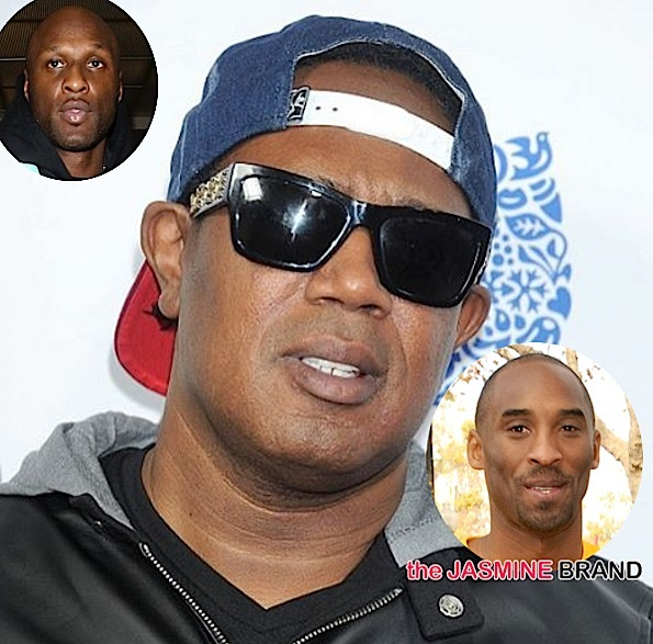 Kobe Bryant Reacts to Master P's Criticism Over Lamar Odom