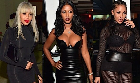 Bernice Burgos, Delicia Cordon, Brittni Mealy, Quad Webb-Lunceford Party At Compound