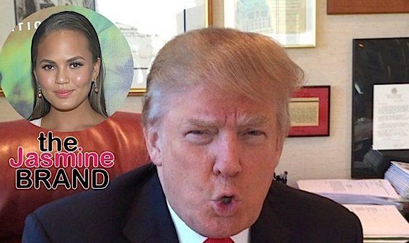 Chrissy Teigen Blocked On Social Media By Trump
