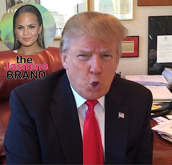 Chrissy Teigen Blocked On Social Media By Trump
