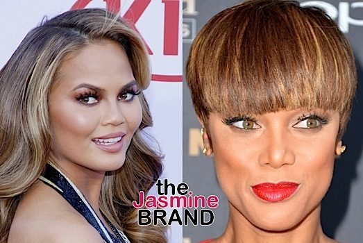 Chrissy Teigen Reacts To Rumors That She's Fighting With Tyra Banks