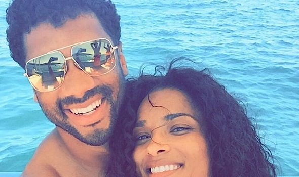 Ciara & NFL'er Boyfriend Russell Wilson Spotted Bae-Caying in Mexico [Photos]
