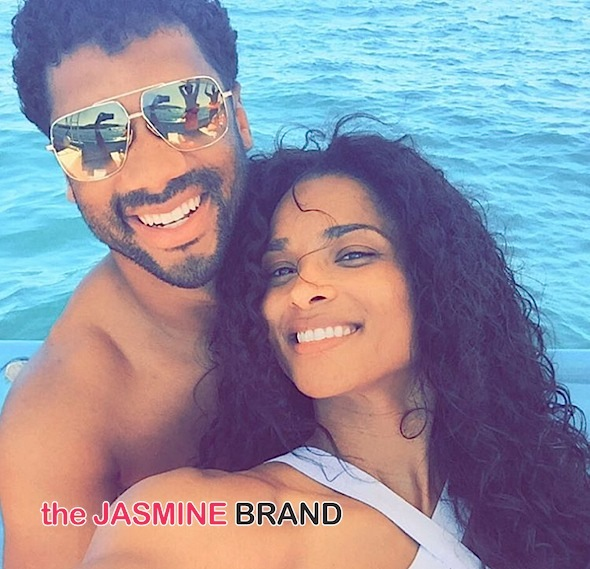 "Ciara Admits Being Unhappy In Relationships Before Russell Wilson, ""I Would Be Crying In The Bedroom, Crying In The Shower"""