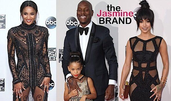 American Music Awards Red Carpet: Ciara, Tyrese, Nicki Minaj, Karrueche Tran, Christina Milian, Zendaya, Justin Bieber [Photos]