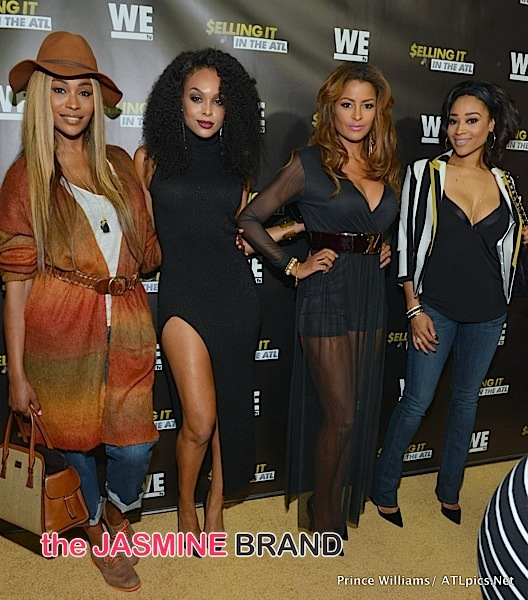 'Selling It: In the ATL' Celebrates Premiere + Cynthia Bailey, Mimi Faust, Kandi Burruss, Claudia Jordan, Sheree Whitfield Spotted! [Photos]