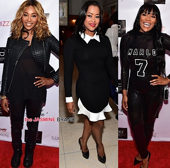 Cynthia Bailey, Lisa Wu, Marlo Hampton
