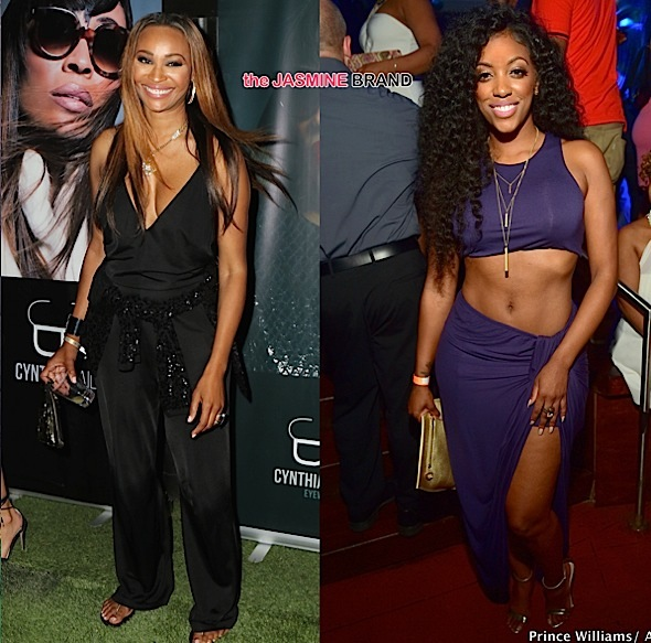 Cynthia Bailey Is Apologetic About Kicking Porsha Williams: It's not who I am. [VIDEO]