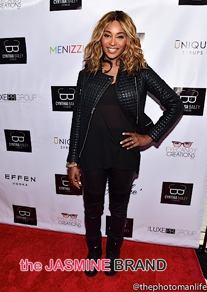 Cynthia Bailey-RHOA Viewing Party-the jasmine brand