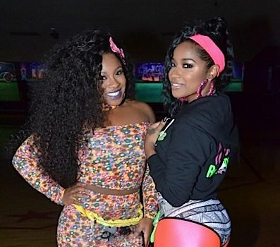 Toya Wright Hosts Roller Skating B-Day Bash: Kandi Burruss, Fabolous, Monyetta Shaw, Quad Webb-Lunceford, Rasheeda Attend [Photos]