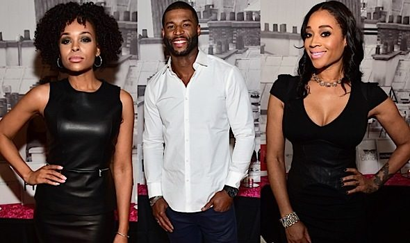 Mimi Faust, Robert Riley, Demetria McKinney Attend Pynk's Private Dinner [Photos]