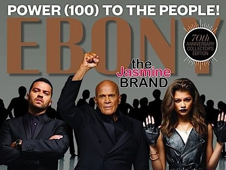 Zendaya, Jesse Williams, Harry Belafonte Go Militant For EBONY's Cover [Photos]