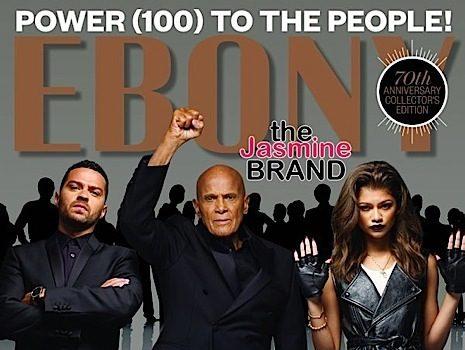 Zendaya, Jesse Williams, Harry Belafonte Go Militant For EBONY's Cover [Photos]