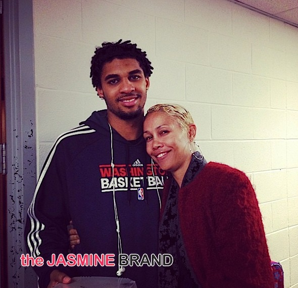 Glen Rice Jr, Tammy McCall Browning