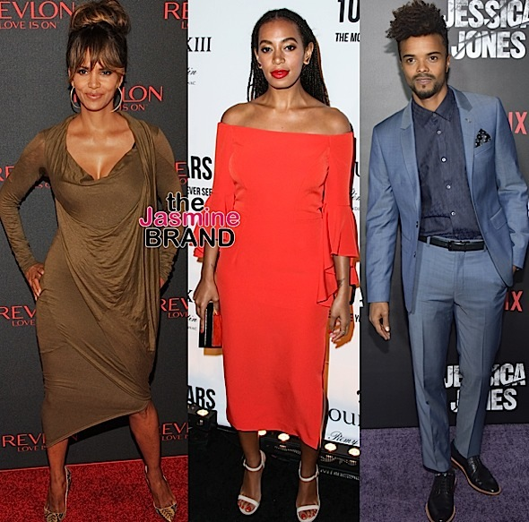 Celebrity Stalking: Halle Berry, Solange Knowles, Eka Darville, Andra Day, Patina Miller, Charl Brown [Photos]