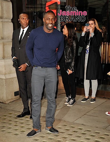 Idris Elba and Superdry launch Menswear Collection in London