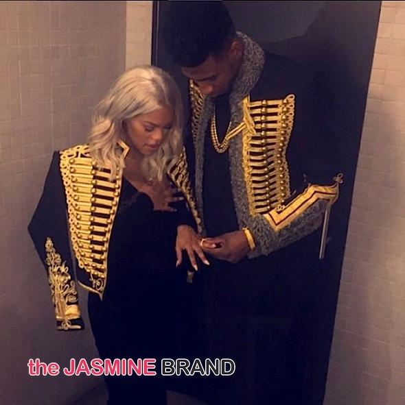 Iman Shumpter-Teyana Taylor engaged-the jasmine brand