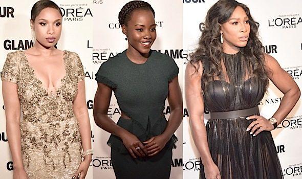 Glamour's 'Women of the Year Awards' Red Carpet: Jennifer Hudson, Lupita Nyong'o, Serena Williams, Caitlyn Jenner, Misty Copeland [Photos]