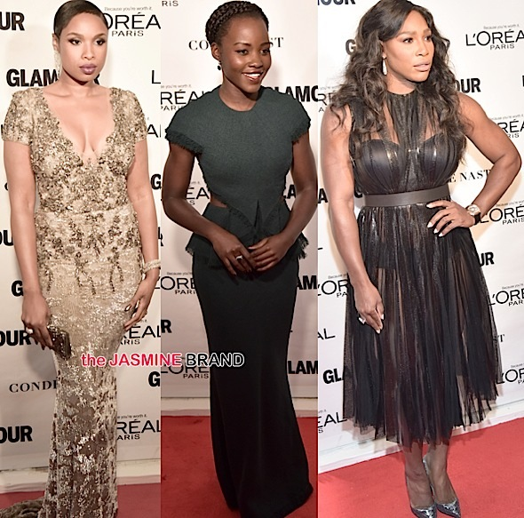 Jennifer Hudson, Lupita Nyongo, Serena Williams