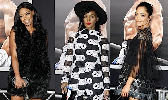 Janelle Monae, Jill Marie Jones, Michael B Jordan, Tessa Thompson Attend 'Creed' Premiere [Photos]