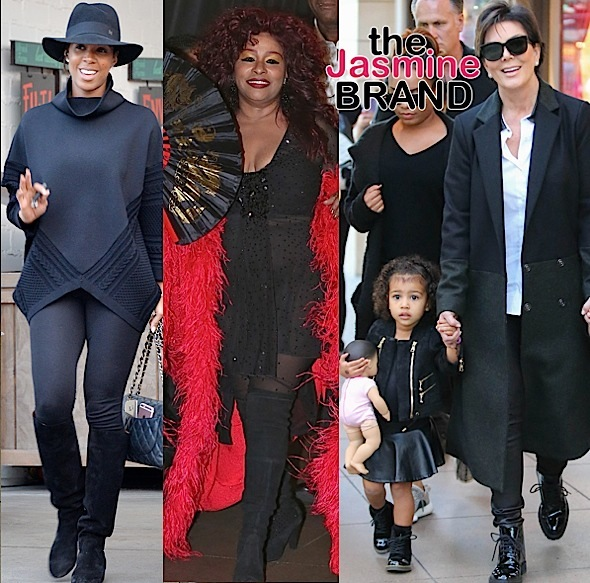 Kelly Rowland, Chaka Khan, North West, Kris Jenner