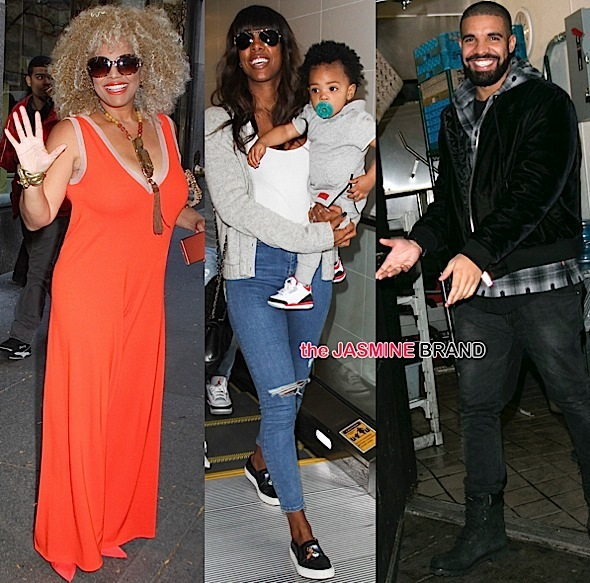 Kim Fields-Kelly Rowland-Baby Titan-Drake-the jasmine brand