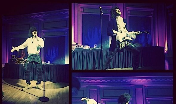 Watch LeBron James Cover Prince [VIDEO]