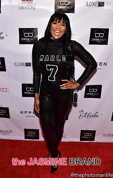 Marlo Hampton-RHOA Viewing Party-the jasmine brand