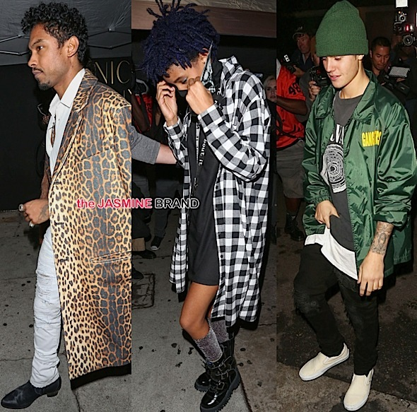 Miguel, Willow Smith, Justin Bieber