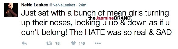 NeNe Leakes Slams The View After Appearance-the jasmine brand