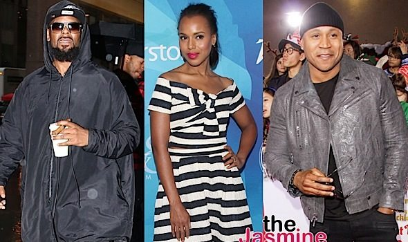 Celebrity Stalking: Kerry Washington, LL Cool J, R.Kelly, Tia Mowry-Hardict, Baron Davis, Lamorne Morris