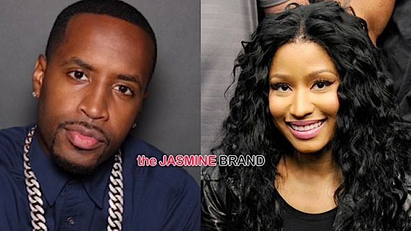 Safaree's Cryptic Message To Nicki Minaj: You're still bothered by me.