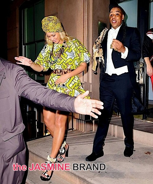 Beyonce & Jay Z (as 'Coming to America' cast)
