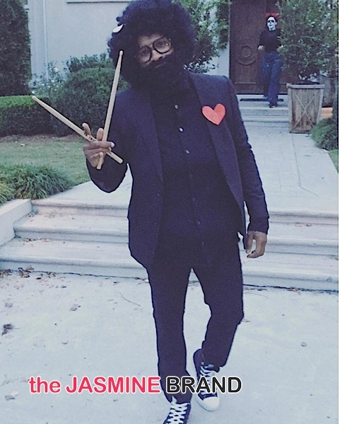 Usher (as Questlove)