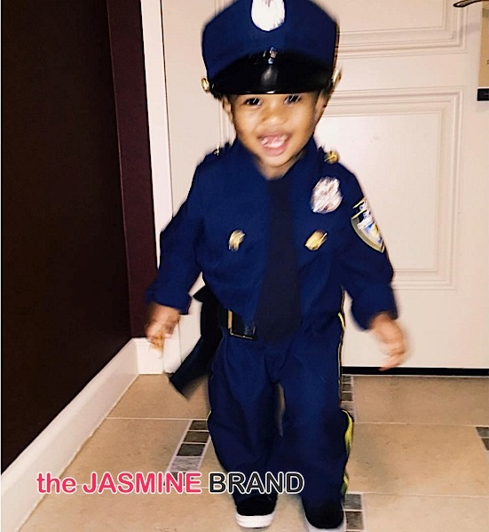 Baby Future (as a police officer)