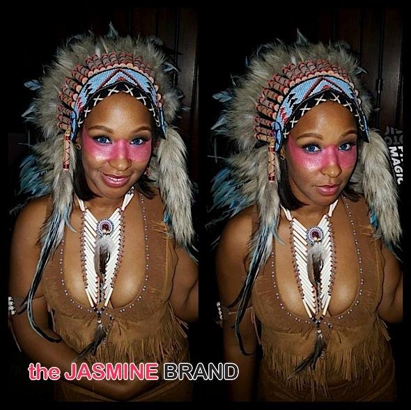LeBron James' wife Savannah (as Pochahannis)
