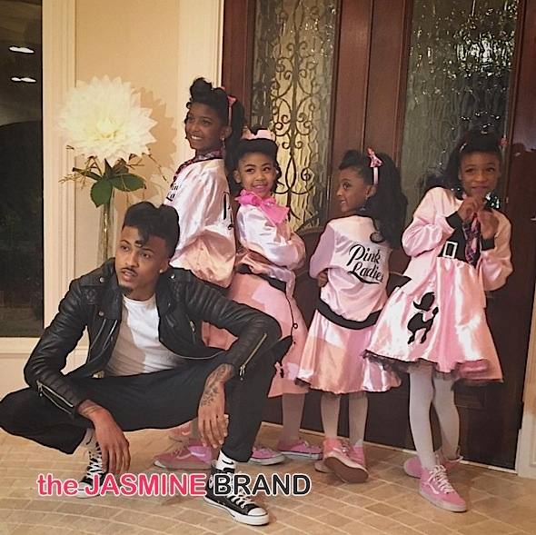 August Alsina (as Grease)