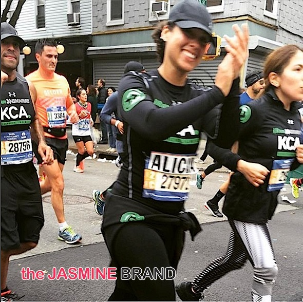 Alicia Keys Runs NYC Marathon! [Photos]